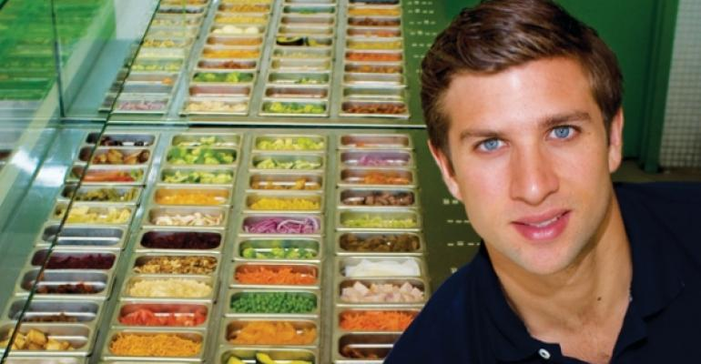 Matthew Corrin founder and CEO Freshii