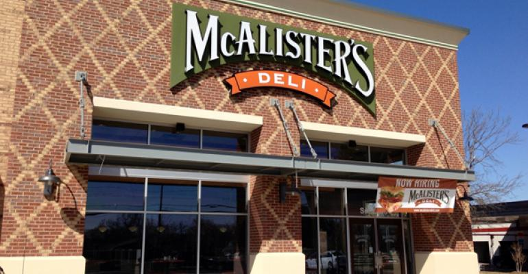 McAlister's franchisee unveils new look