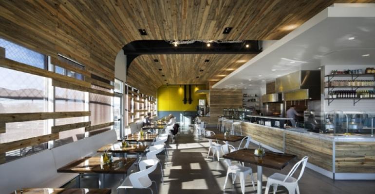 Modmarkets design features an open kitchen