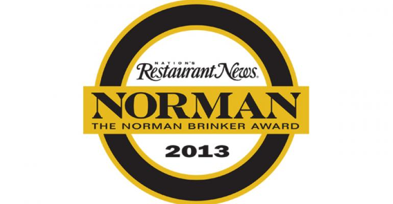 NRN names Jon Luther The Norman Award winner