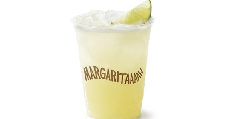Chipotle to debut premium margarita