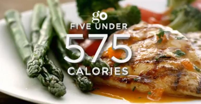 Olive Garden targeted healthfulness in a new ad campaign
