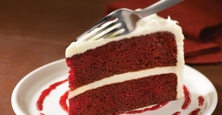 Red Robin red velve cake