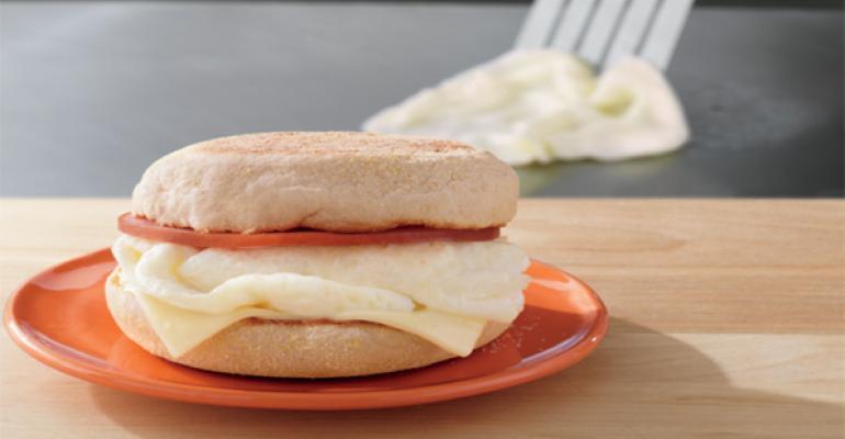 McDonalds new Egg White Delight McMuffin