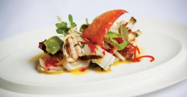 Seafood Salad at Gotham Bar and Grill