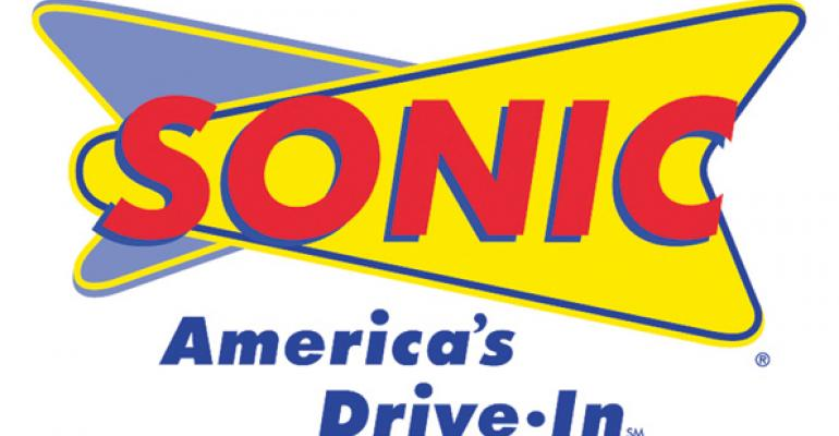 Sonic expects same-store sales to improve in 2013