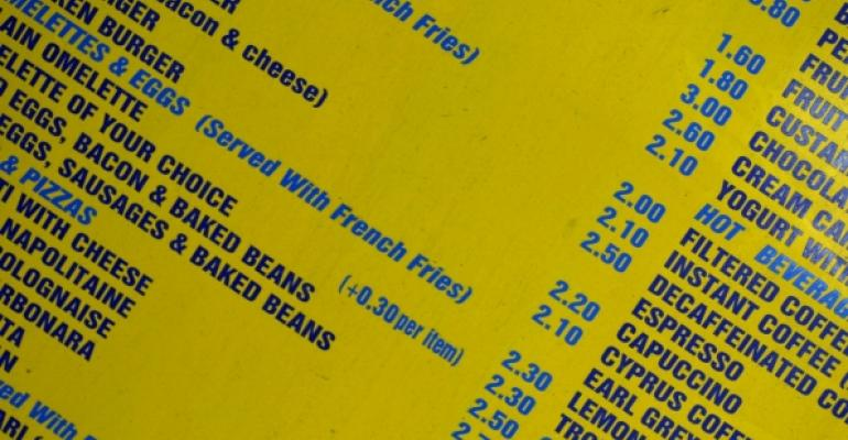 Restaurant chains expect to raise menu prices