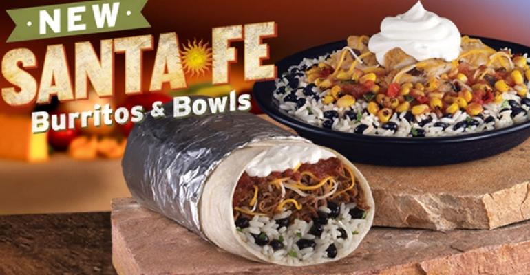 Taco John's debuts customizable burritos, bowls