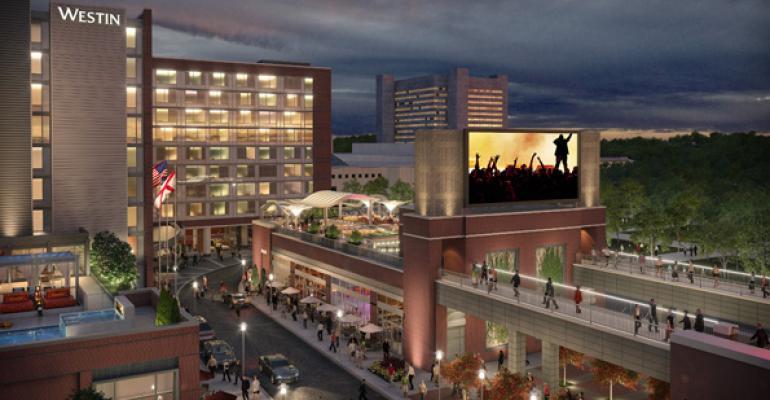 Uptown Birmingham is a 65 million entertainment complex