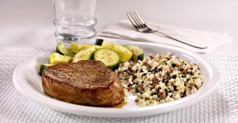 Dennys new sirloin steak entre