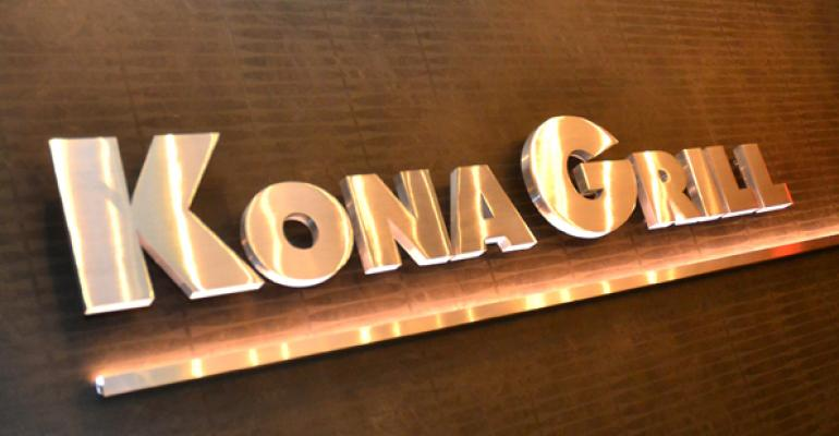 Kona Grill 2Q sales, revenue increase modestly