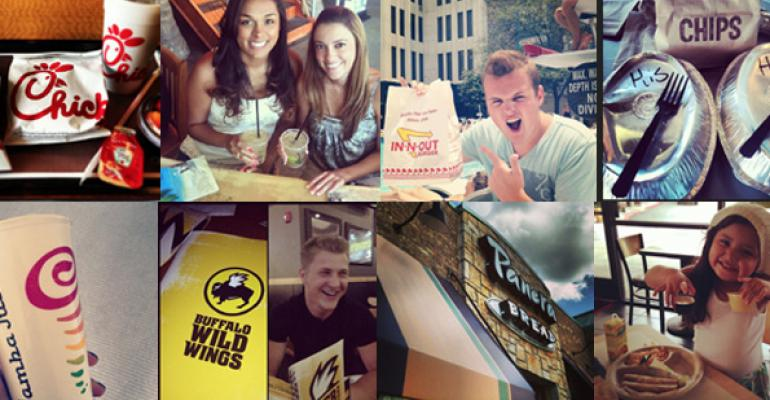 ChickfilA Starbucks and Buffalo Wild Wings are among the brands MomentFeed tracked on Instagram