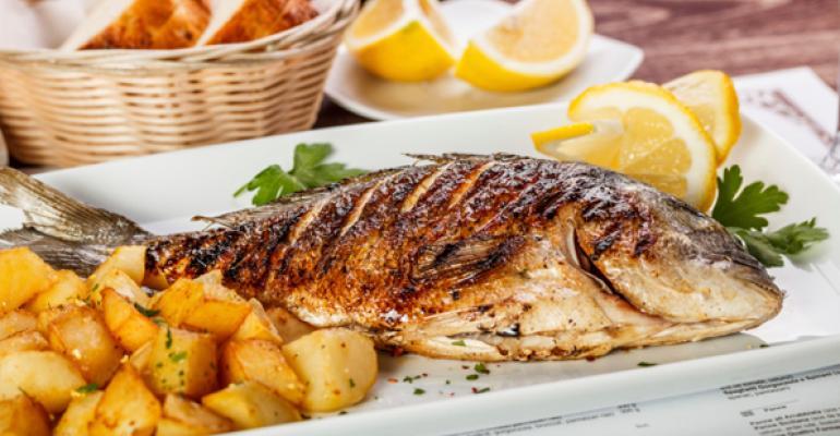 A look at autumn seafood menus