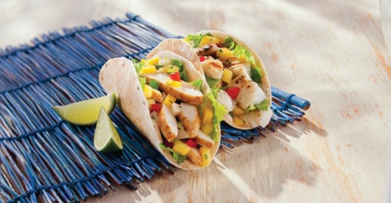Tropical Smoothie Cafs Tropical Tacos