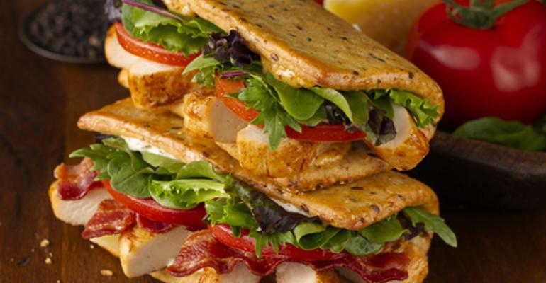 Wendy's reprises Flatbread Grilled Chicken sandwich