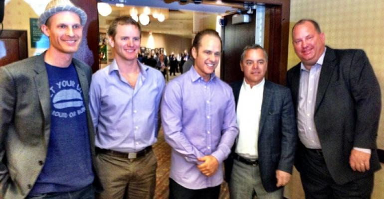 From left Saul Cooperstein Anthony Pigliacampo Pierre Panos Chris Doody and Rick Van Pelt
