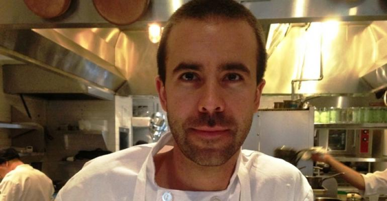 Luke Venner executive chef at BLT Fish in New York City