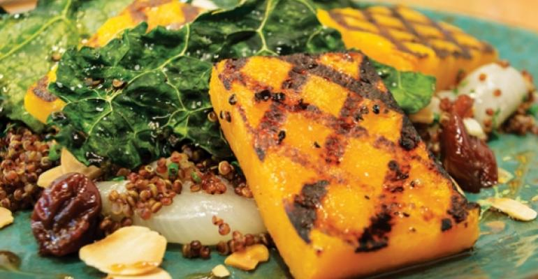Little Market squash and quinoa