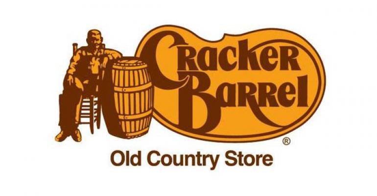 Cracker Barrel 1Q net income rises 17.1%