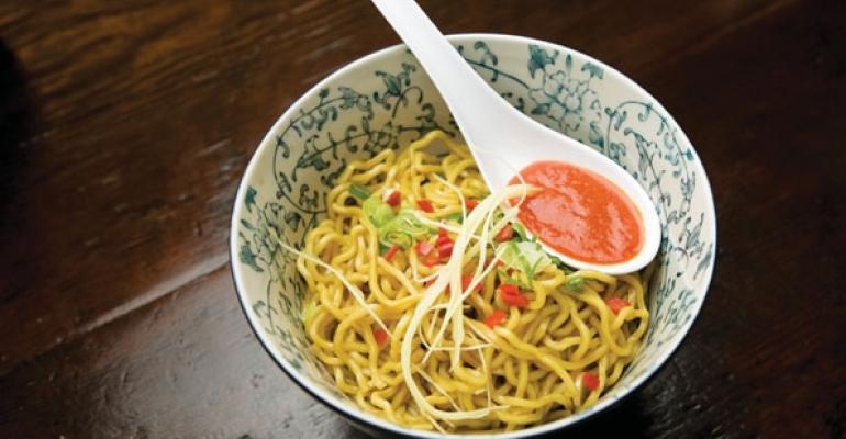 Fatty Cues latenight menu includes its 10 Bowl O Noodles