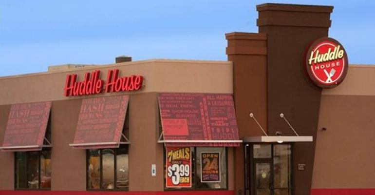 Huddle House plans big growth with small franchisees