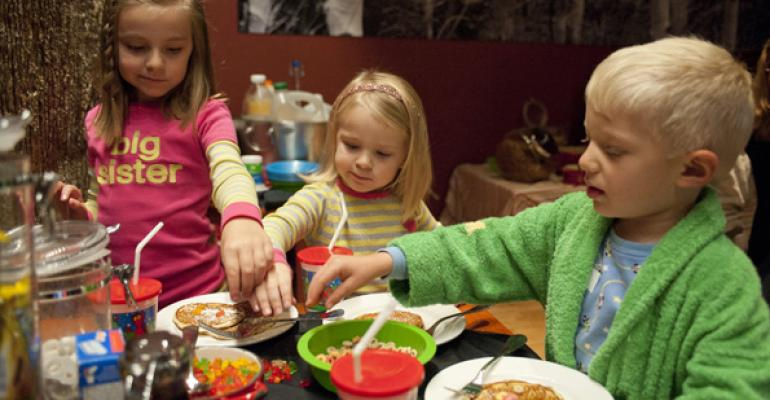 Second Home Kitchen  Bar in Denver hosts a Sunday pajama brunch for kids in a private dining room