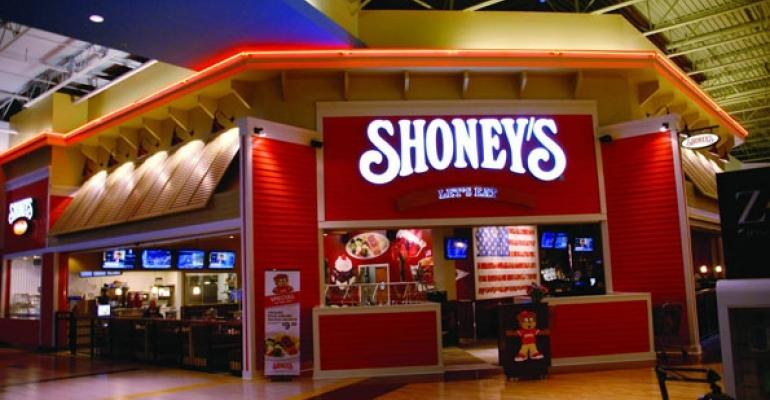 Shoneys in the Sugarloaf Mills mall in Lawrenceville Ga