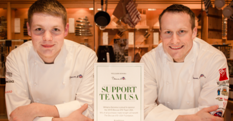 Say hello to Bocuse d'Or Team USA