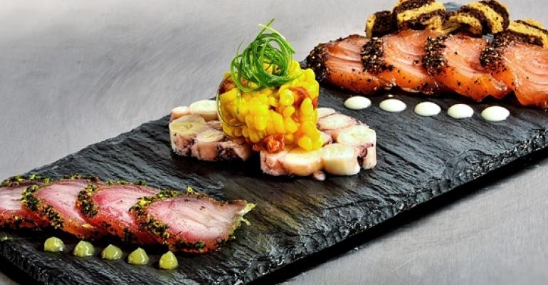 Charcuterie done here with seafood topped NewBrandAnalytics39 list of top appetizers of 2013