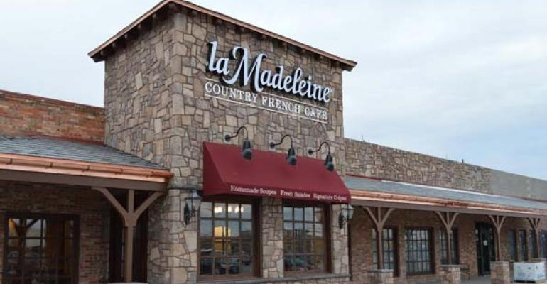 La Madeleine Country French Caf 233 Opens First Franchised