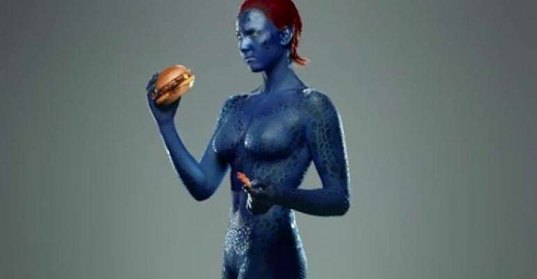 Video: Carl's Jr., Hardee's promote X-Men burger