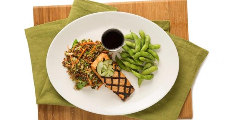 The Miso Grilled Salmon
