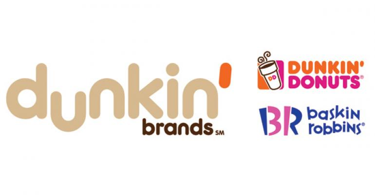 Dunkin' Donuts takes hit from winter storms in 1Q