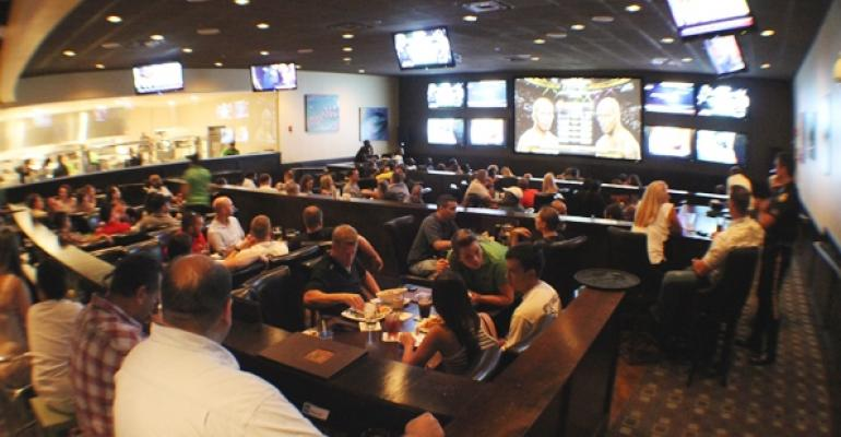Latitude 360 locations feature a highdefinition sports theater