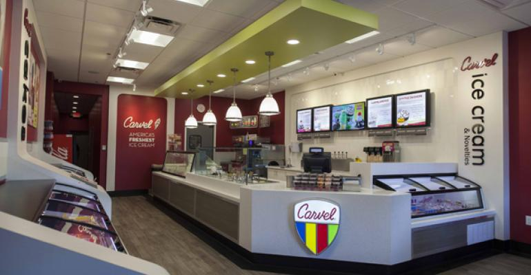 Carvel39s new design includes additional display cases for different products