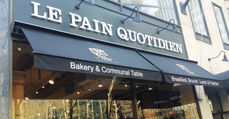 Bakerycafe chain Le Pain Quotidien got its start in Brussels Belgium