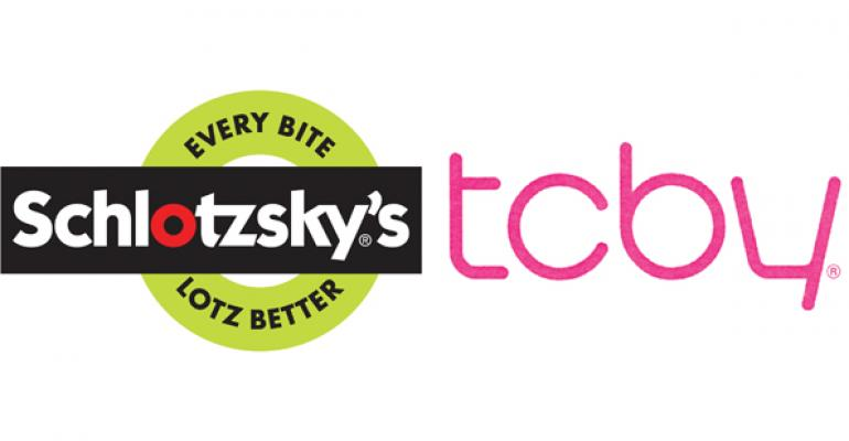 Schlotzsky's, TCBY test co-branded units