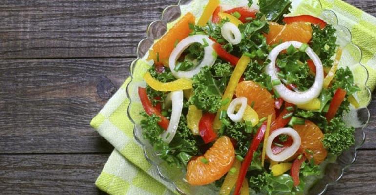 Restaurateurs warm to summer salads