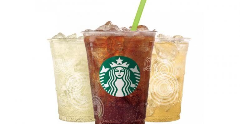Starbucks39 Fizzio drinks are available in three flavors