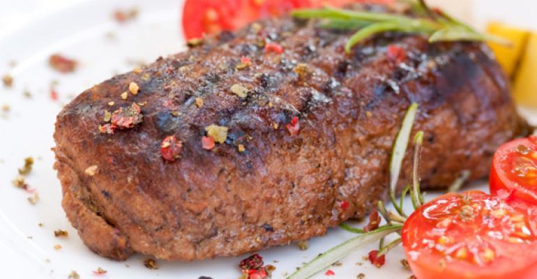Report: Beef sales in restaurants rise