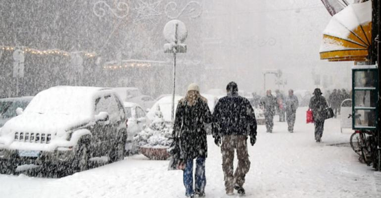 Experts: Winter weather slowed macroeconomic momentum