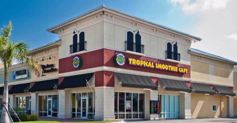 Tropical Smoothie Café: Menu innovation, financing drives expansion
