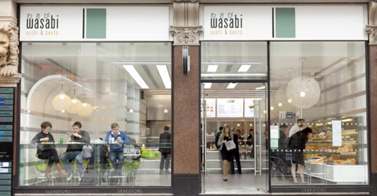 U.K. sushi concept plans to expand in New York