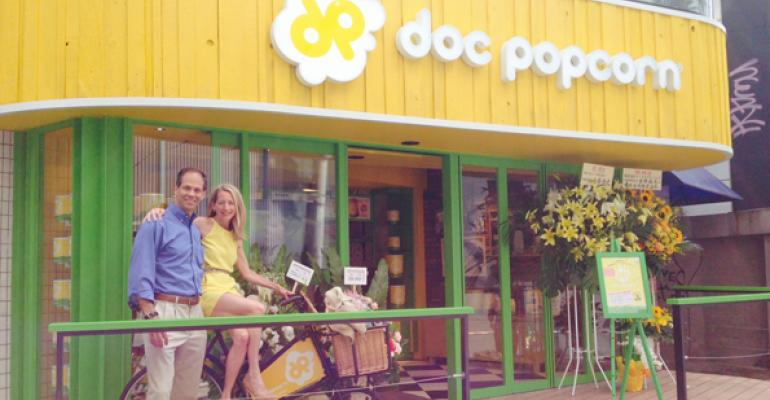Doc Popcorn39s founders at a Japan unit