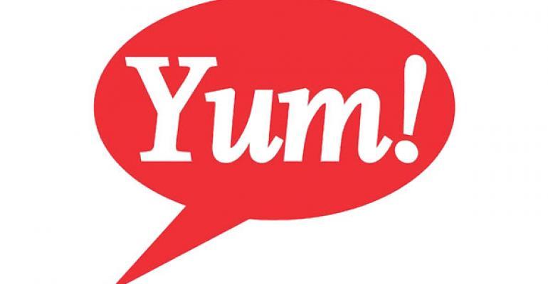 Yum 2Q profit grows 18.9%