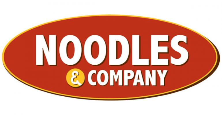 Noodles & Company 2Q same-store sales suffer on weather woes