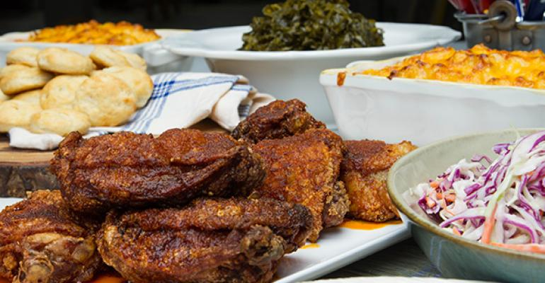 The menu at Carla Hallrsquos Southern Kitchen will include Nashville specialty quothot chickenquot