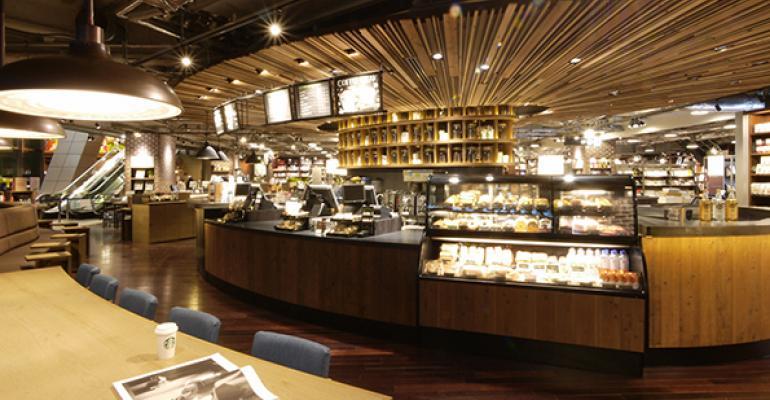 A Starbucks unit in Tokyo39s Roppongi district