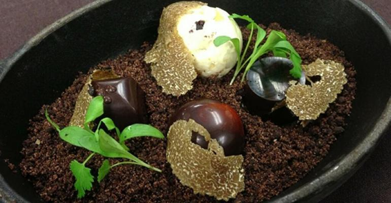 The Truffle Hunter served at The Nines Hotel in Portland Ore