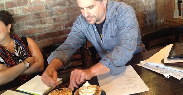 John Sage tries Dinosaur BarBQue39s Roasted Apple Cake